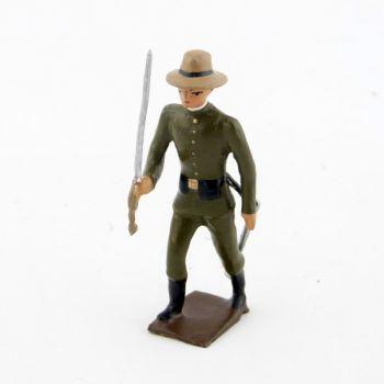 officier de l'infanterie coloniale allemande