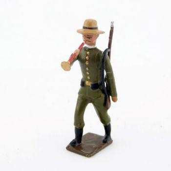 clairon de l'infanterie coloniale allemande