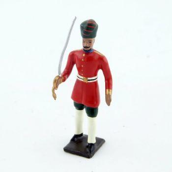officier des soldats indigenes (Durbar)