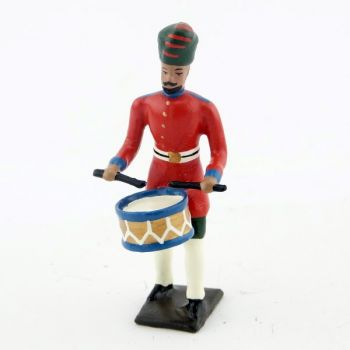 tambour des soldats indigenes (Durbar)