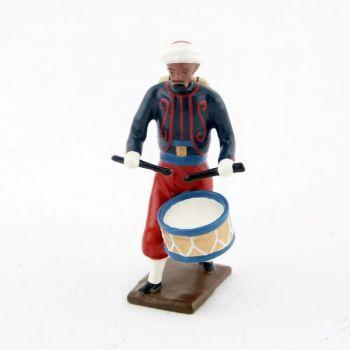 tambour de zouaves avec chèches (turban)
