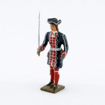 officier des grenadiers de la garde française louis xiv (1670)