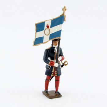 drapeau des grenadiers de la garde française louis xiv (1670)