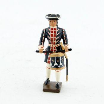 tambour des grenadiers de la garde française louis xiv (1670)