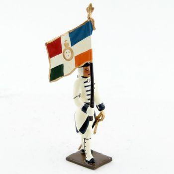 drapeau du régiment de touraine (1740)