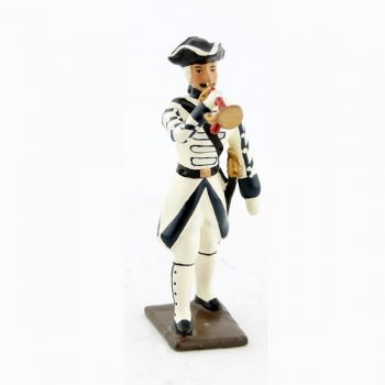 clairon du régiment de touraine (1740)