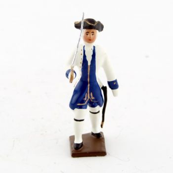 officier des compagnies franches de la marine (1750)