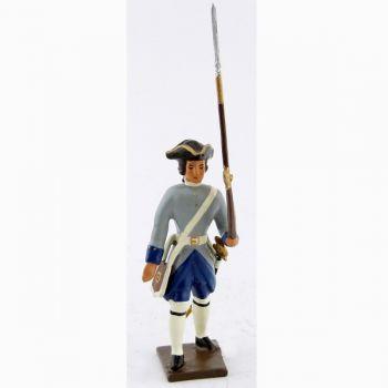 fantassin des compagnies franches de la marine (1750)
