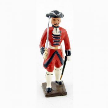 officier des grenadiers de la garde suisse louis xv (1740)