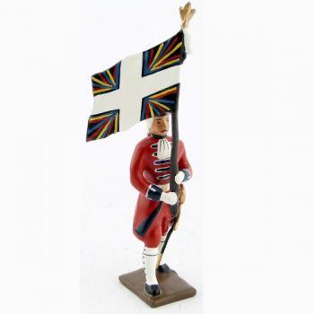 drapeau des grenadiers de la garde suisse louis xv (1740)