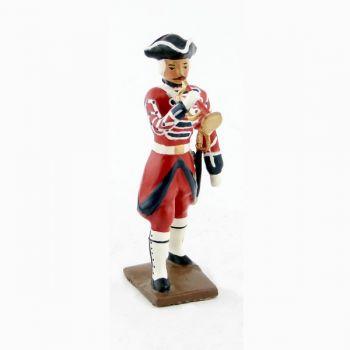 clairon des grenadiers de la garde suisse louis xv (1740)