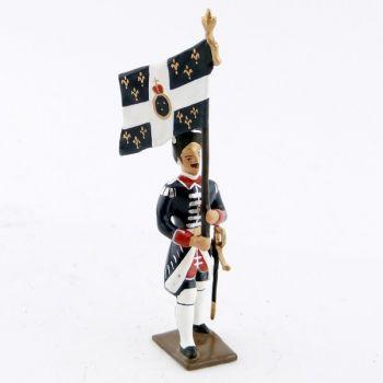 drapeau des grenadiers de la garde française louis xvi (1789)
