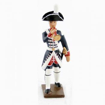 clairon des fusiliers de la garde française louis xvi (bicornes) (1789)