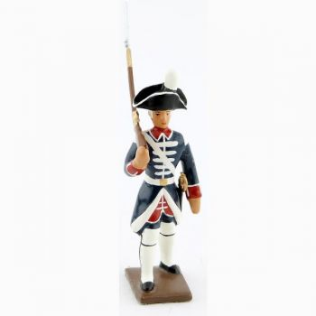 fantassin des fusiliers de la garde française - louis xvi (bicornes) (1789)