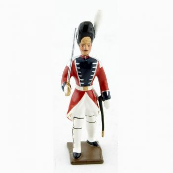 officier des grenadiers de la garde suisse - louis xvi (1789)