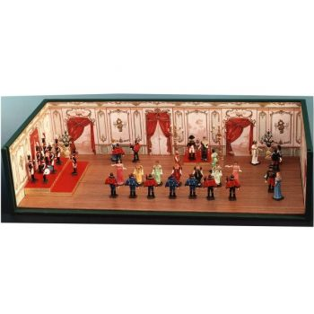 "diorama ""le Bal à la Malmaison"""