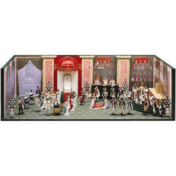"""diorama """"Le Sacre de l'Empereur Napoléon"""" (2 déc. 1804)"""