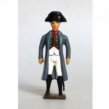 Napoléon 1er en manteau (redingote)