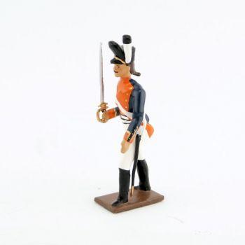 officier du 26e régiment de ligne prussien