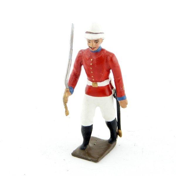 officier de l'infanterie coloniale anglaise