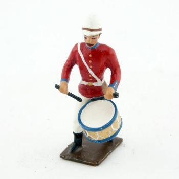 tambour de l'infanterie coloniale anglaise