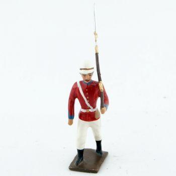 fantassin de l'infanterie coloniale anglaise