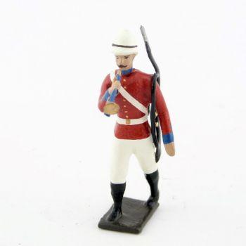 clairon de l'infanterie coloniale anglaise