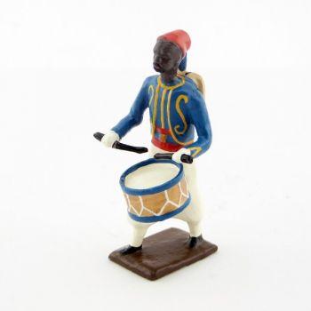 tambour des tirailleurs de l'expédition madagascar (1895)