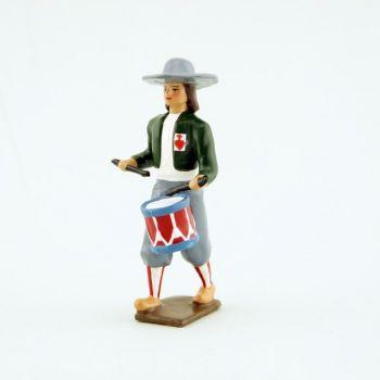 tambour de l'Armée catholique et royale de Vendée