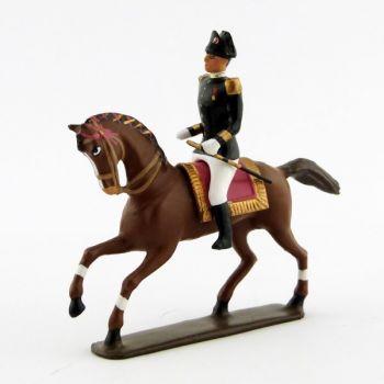 cavalier du Cadre Noir (pantalon blanc, XIXe siècle)