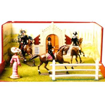 """diorama """"le Cadre Noir de Saumur"""""""