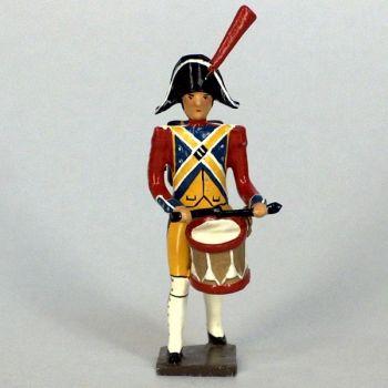 tambour (d'ordonnance) de gendarmerie imperiale (en bicorne) (1803)