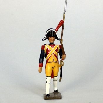 fantassin de gendarmerie imperiale (en bicorne) (1803)