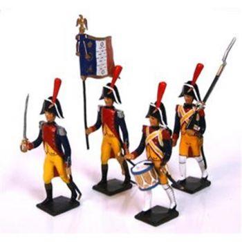 """ensemble de 4 figurines """"Gendarmerie Impériale"""""""