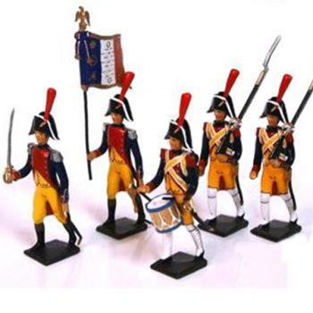 """ensemble de 5 figurines """"Gendarmerie Impériale"""""""