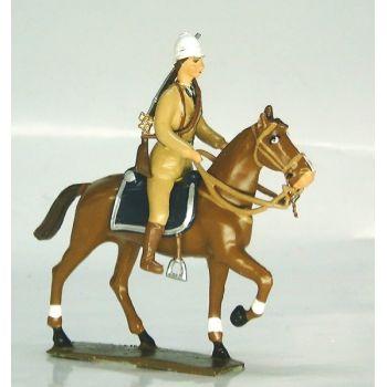 gendarme colonial à cheval
