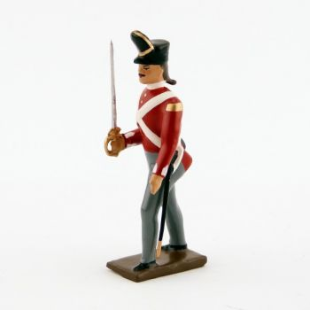 officier du 32nd (cornwall) regiment of foot (1812)