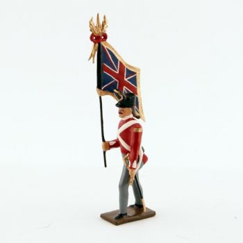 drapeau du 32nd (cornwall) regiment of foot (1812)