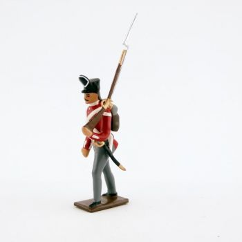 fantassin du 32nd (cornwall) regiment of foot (1812)