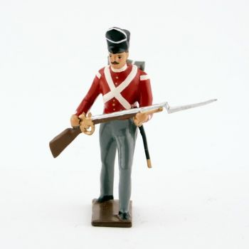 fantassin du 32nd (cornwall) regiment à l'assaut