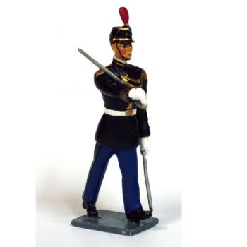 officier d'infanterie de la Garde Républicaine