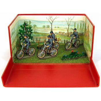 """diorama ''la compagnie de cyclistes"""""""