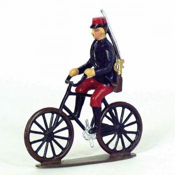 soldat d'infanterie de ligne à bicyclette