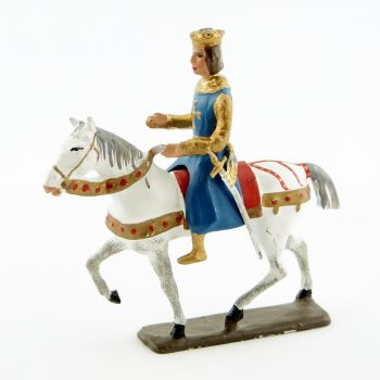 Saint Louis à cheval