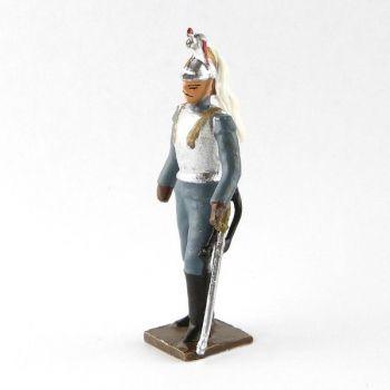 officier des cuirassiers à pied, tenue bleu horizon