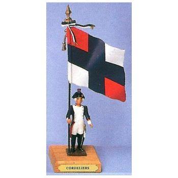 drapeau du bataillon des Cordeliers