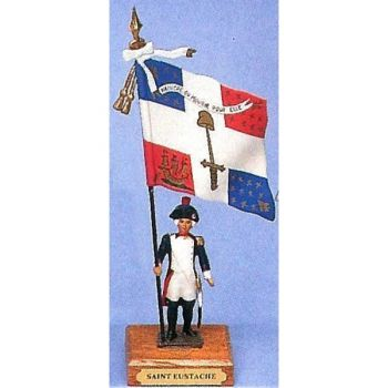 drapeau du bataillon de Saint-Eustache