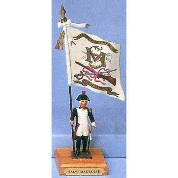 drapeau du bataillon de Saint-Magloire