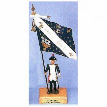 drapeau du bataillon des Capucins de Saint-Honoré
