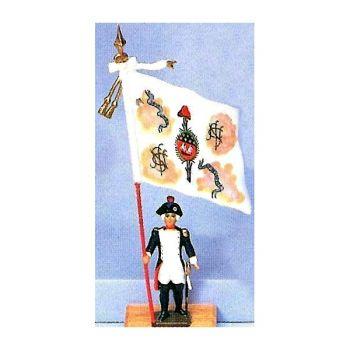 drapeau du bataillon de Saint-Nicolas des Champs